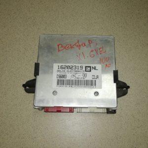 Блок управления двигателем для Опель Вектра Б 1995-2002 г X1.6XEL МКПП